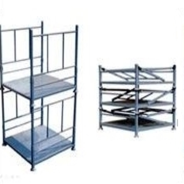 倉庫籠,折疊鐵籠,鐵籠,堆疊籃